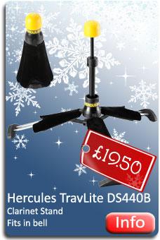 Hercules Clarinet Stand
