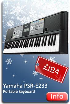 Yamaha PSR-E233 Keyboard