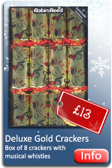 Deluxe Gold Crackers