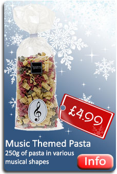 Music Themed Pasta