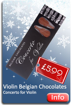 Concerto for Violin Belgian Chocolates