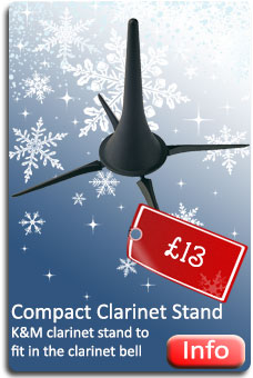K&M Compact Clarinet Stand
