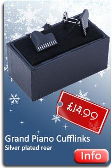 Grand Piano Cufflinks