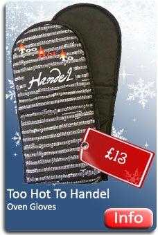 Too Hot to Handel Oven Gloves