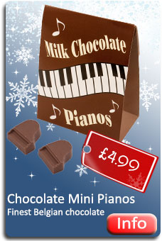 Mini Chocolate Pianos