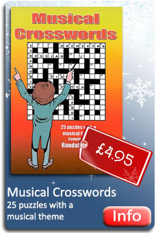 Musical Crosswords