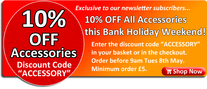 10% Off Accessories at Ackerman Music - Voucher Code ACCESSORY