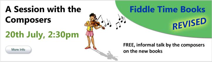 Fiddle Time Starters Seminar for Teachers