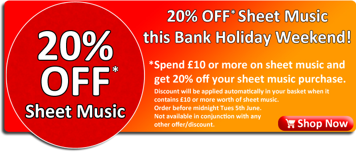 20% Off Sheet Music at Ackerman Music