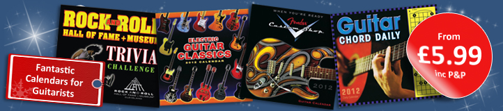 Guitar 2012 Calendars