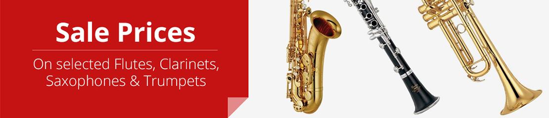 Ackerman Music, Sheet Music, Saxophones, Flutes, Clarinet