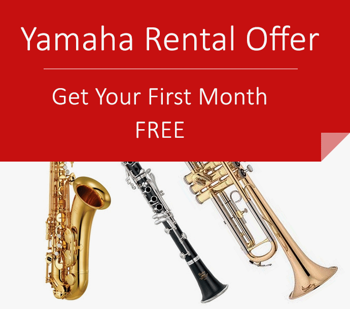 One month free on yamaha rentals