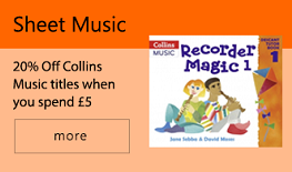 20% Off Collins Music