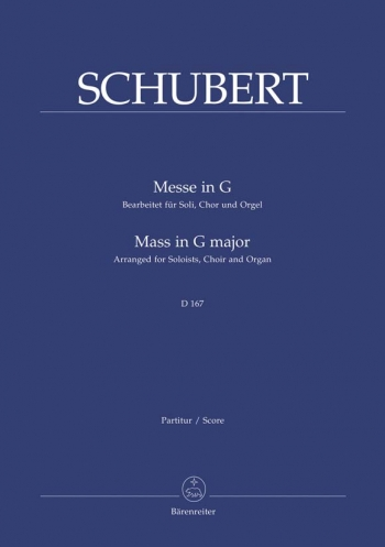 a music analysis of schuberts mass in g Schubert - mass no 2 in g major d167 tel-aviv soloists ensemble moran singers ensemble conductor: barak tal soloists: hadas faran - sopran yuval golan - te.
