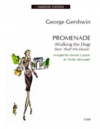 Gershwin Walking The Dog Sheet Music Clarinet