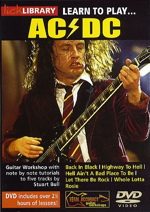 AC/DC - Back in Black - Guitar Lesson - How to Play ...