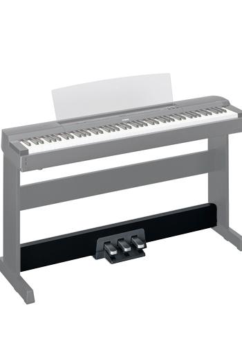 Yamaha lp255 pedal unit black for Yamaha piano pedal unit