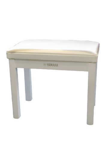 Yamaha Polished White Piano Bench Gtbpw