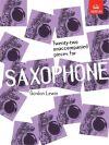 22 Unaccompanied Pieces: Alto Saxophone (Lewin) (ABRSM)