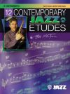 12 Contemporary Jazz Etudes: Alto Saxophone Book & CD (Mintzer) (Alfred)