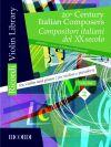 20th Century Italian Composers Vol 2: Violin & Piano (Ricordi)