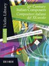 20th Century Italian Composers Vol 1: Violin & Piano (Ricordi)