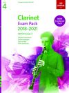 ABRSM Clarinet Exam Pack Grade 4 2018–2021: Pieces Scales Sight-reading & Download