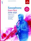ABRSM Saxophone Exam Pack Grade 1 2018–2021: Pieces Scales Sight-reading & Download