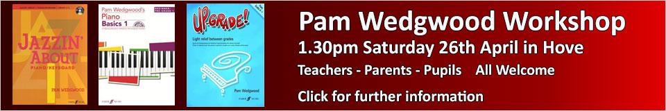 Pam Wedgwood workshop