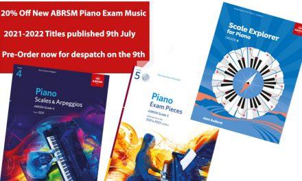 New ABRSM Piano Music