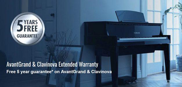 Yamaha 5 year extented warranty